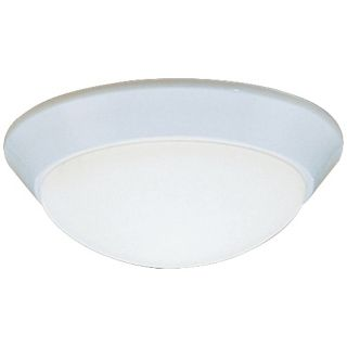 "Kichler Etched Glass Dome White 10"" Wide Ceiling Light   #J1184"