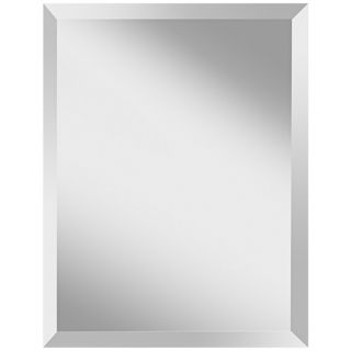 "Murray Feiss Infinity 28"" High Rectangular Wall Mirror   #X2661"
