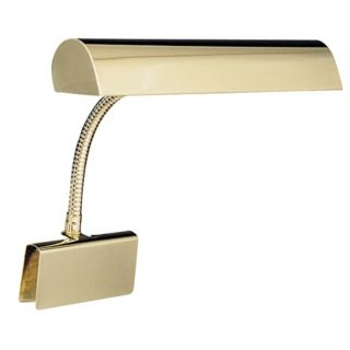 House of roy Polished Brass Plug in Grand Piano Lamp   #00598