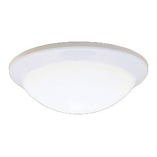 "Kichler Etched Glass Dome White 14"" Wide Ceiling Light   #J1186"
