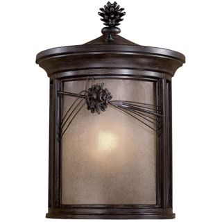 "Abbey Lane 19"" Pine Cone Outdoor Wall Lantern   #07004"