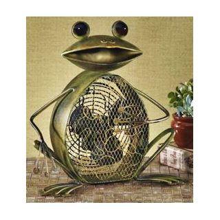 Deco Decorative Frog Fan   #H7813
