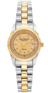 Jules Jurgensen Gold Tone Ladies Bracelet Watch