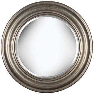 "Urban Elegance Antique Silver 32"" High Wall Mirror   #T5040"