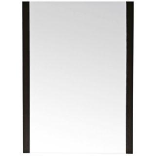 """Avanity Loft 23"""" Wide Dark Walnut Wall Mirror   #V4896"""