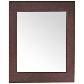 "Avanity 22"" Wide Dark Walnut Frame Wall Mirror   #V4912"