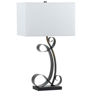 Padova Forged Iron Table Lamp   #P6586
