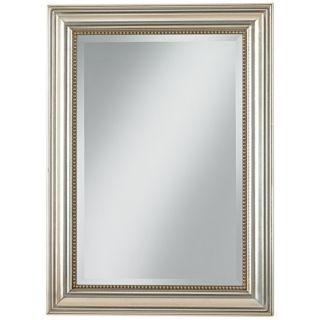 """Uttermost Stuart Silver Leaf 36 3/4"""" High Wall Mirror   #M9853"""