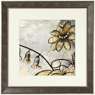 "Walt Disney Melody Time Flowers Framed 26"" Square Wall Art   #J5238"