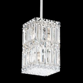 """Schonbek Quantum Collection 5 1/2"""" Wide Crystal Mini Pendant   #J2845"""