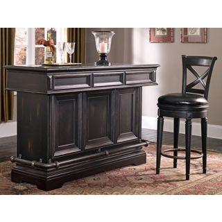 Brookfield Birch Wood Bar Cabinet   #W2423