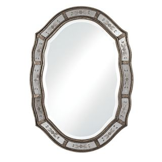 "Uttermost Fifi Etched 34"" High Wall Mirror   #67267"