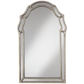 "Uttermost Petrizzi 35"" High Silver Wall Mirror   #W5449"