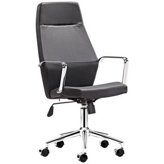 Zuo Holt Collection High Back Black Office Chair   #V7434