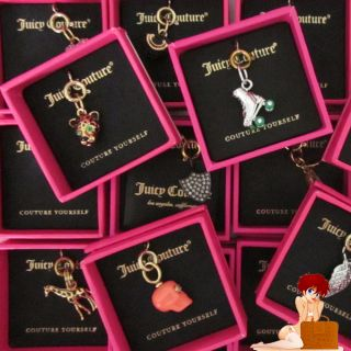 New Authentic Juicy Couture DIY Mini Charms Many Choices