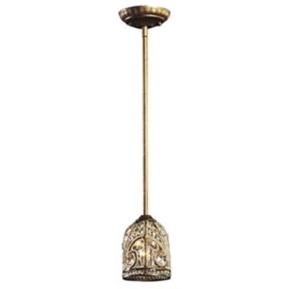 Bethany Collection Bronze Finish Pendant Chandelier   #61513