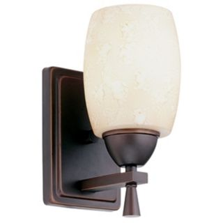 Ferros Antique Bronze ENERGY STAR Wall Sconce   #26220