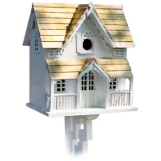 Victorian Cottage with Mounting Bracket Bird House   #H9581