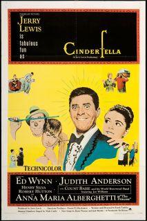 Cinderfella 1967 Original U s One Sheet Movie Poster