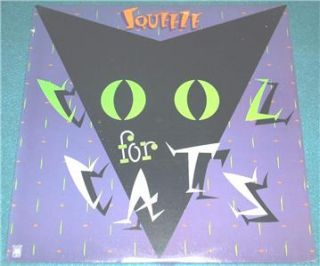 Squeeze Cool for Cats White Label Promo LP