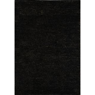 Bohemian Black Eco Friendly Jute Area Rug   #G6826