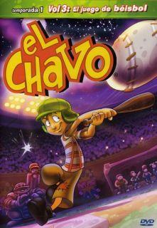 Chavo Animado Vol 3 El Juego de Beisbol Y mas New DVD