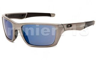 New Oakley Jury Sunglasses Distressed Silver Ice Iridium
