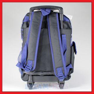 16 Justice League Rolling Backpack Roller Bag Superman