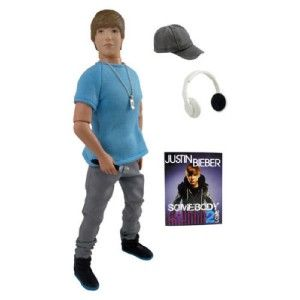 Justin Bieber Action Figure Street Style 12 Doll Blue
