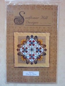 Rise & Shine Sunflower Hill Wall Hanging Quilt/Quilting Pattern