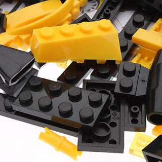 DIY 3D Shock Wave Car bloquea los ladrillos del edificio del juguete