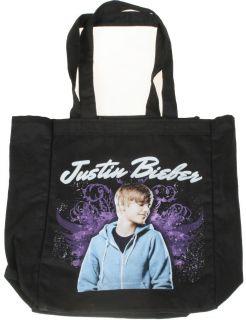 New Justin Bieber Grungy Wings Tote Shopper Beach Shoulder Bag Fever