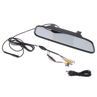 USD $ 42.39   4.3 Inch Digital TFT LCD Screen Car Rear View Mirror