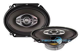 JVC CS HX6848 6x8 4 Way 620W Max Coaxial Full Range Car Stereo Panel