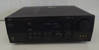 JVC RX 884V Audio Video Control Receiver Dolby Digital Theatre