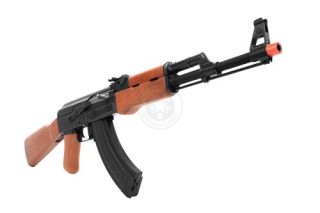 Kalashnikov AKM AK47 AEG Full Metal Real Wood Blowback Ebb Electric