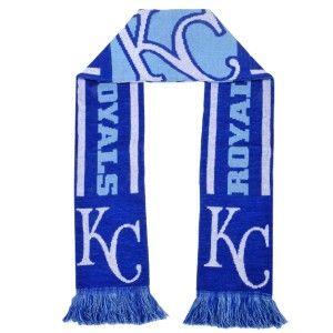 Kansas City Royals MLB 2 Sided Scarf with Logo