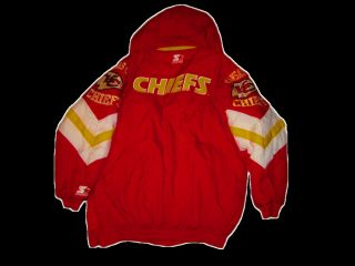 New Kansas City Chiefs super warm winter jacket   NFL Pro Line by