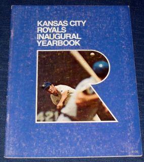 1969 Kansas City Royals Inaugural Yearbook 101012
