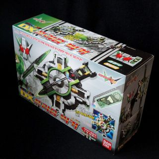Bandai Masked Kamen Rider w DX Double Prism Bicker Sword and Shield