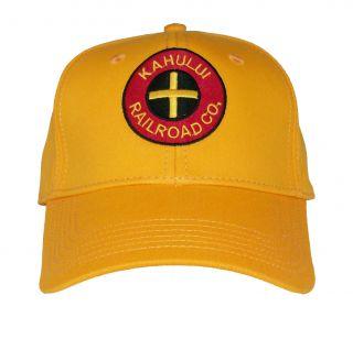 Kahului Hawaii Railroad Cap Hat 40 Kahug