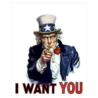 Wall Art  Posters  Uncle Sam Wants you Poster