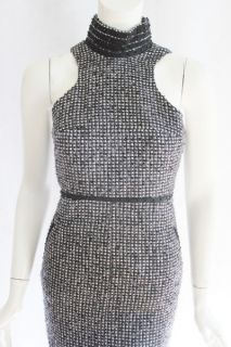 Karl Lagerfield Womens Nine Iron Sleeveless Beaded Neck Woven Dress 0