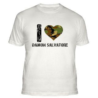 Love Damon Salvatore T Shirts  I Love Damon Salvatore Shirts & Tee