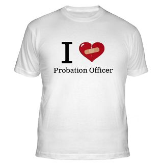 Love Probation Officer Gifts & Merchandise  I Love Probation