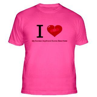 Love My Korean Boyfriend Korea Ihearttees Gifts & Merchandise  I