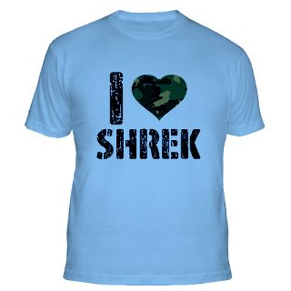 Love Shrek Gifts & Merchandise  I Love Shrek Gift Ideas  Unique