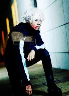 Fate Zero Kariya Mato Short White Anime Cosplay Party Hair Wig