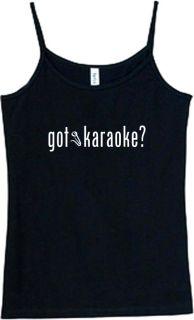 Shirt Tank got Karaoke Sing Song Lyrics Music