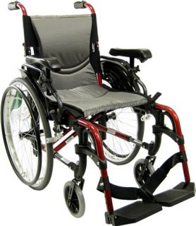 NEW Karman S305 Ultra Lightweight Wheelchair 18x17 with Quick Release